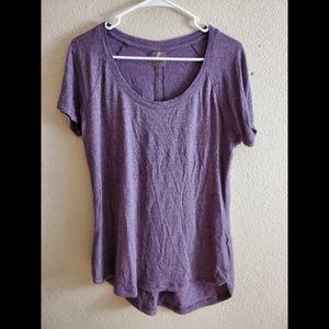 CALIA Carrie Underwood Purple Athletic Shirt Top